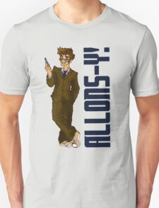Allons-y! (With Caption)  T-Shirt