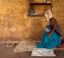 Binda. Varanasi by Claude  Renault