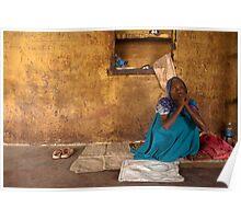 Binda. Varanasi Poster