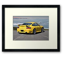 2014 Porsche Turbo Framed Print