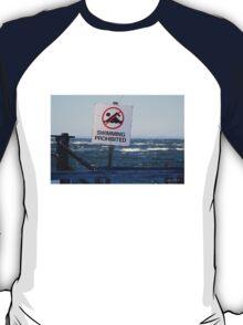 Swimming Prohibited T-Shirt