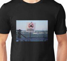 Swimming Prohibited Unisex T-Shirt