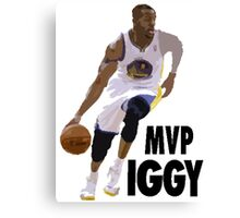Iggy - MVP Canvas Print