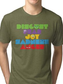 Inside Out - Stacked Emotions Tri-blend T-Shirt