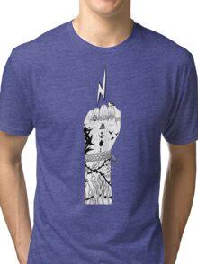 fist Tri-blend T-Shirt