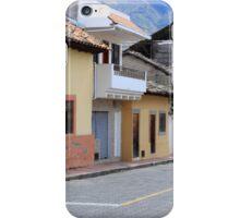 Street in Cotacachi iPhone Case/Skin