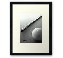Snooker Framed Print