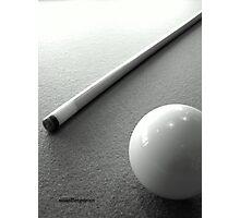 Snooker Photographic Print