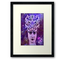 Snake Woman Framed Print