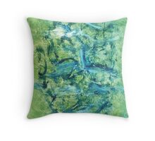 We Are Spirit We Live Forever Throw Pillow