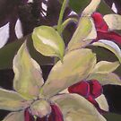 AVAILABLE- Orchid Sketch by Jennifer Greenfield