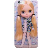 Alice rocks a 60s vibe iPhone Case/Skin
