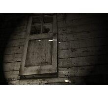 The Door is Ajar Photographic Print