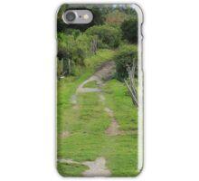 Rural Driveway iPhone Case/Skin