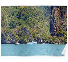Aproching James Bond Island Poster