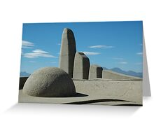 Afrikaans Taalmonument Greeting Card