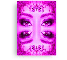 Purple Vision Canvas Print