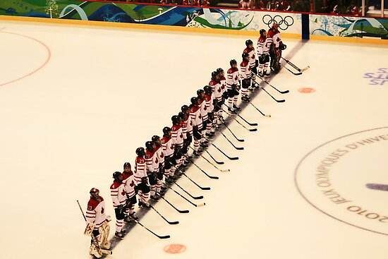 The Lineup - Women's Olympic Hockey by smw24