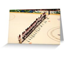 The Lineup - Women's Olympic Hockey Greeting Card