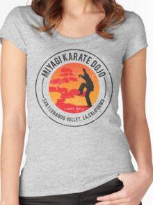 Miyagi Dojo Women's Fitted Scoop T-Shirt