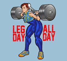 Chun Li - Leg Day All Day Unisex T-Shirt