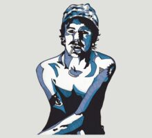 Elliott Smith t-shirt by Angelique Moselle Price