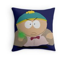 Doctor Who / South Park crossover Throw Pillow
