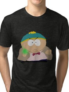 Doctor Who / South Park crossover Tri-blend T-Shirt
