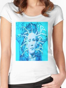 Blue Scorpion Women's Fitted Scoop T-Shirt