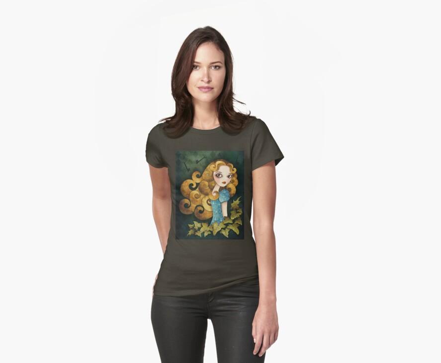 Alice T-shirt (w/background) by sandygrafik