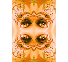 Eyes of a Mirror Photographic Print