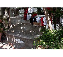 Positano Nook Photographic Print