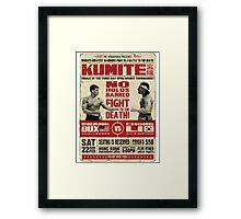 Kumite Framed Print