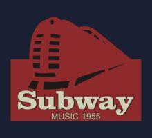 Subway Music 1955 Baby Tee
