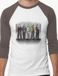 Breaking Bad/ The Usual Suspects (colour) Men's Baseball ¾ T-Shirt