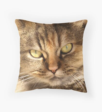 Furry Buddy Throw Pillow