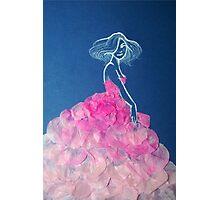 Petal dress Photographic Print