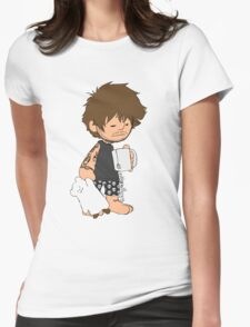 Sleepy Louis Womens Fitted T-Shirt