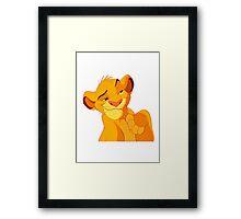Simba - Lion King Framed Print