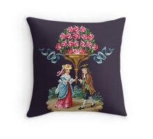 Pretty Good Red Roses Throw Pillow
