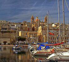 Birgu-Berth, Malta by Edwin  Catania