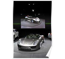 World's First Viewing of the Porsche 918 Spyder Poster