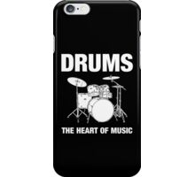 Drums The Heart Of Music decoration iPhone Case/Skin