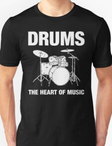 Drums The Heart Of Music decoration Unisex T-Shirt