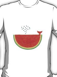 Walermelon whale T-Shirt