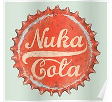 Nuka Cola Bottle Cap Poster