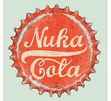 Nuka Cola Bottle Cap Photographic Print