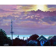 'Sunset over Pamlico Sound' Photographic Print