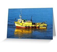 Port Bound Greeting Card