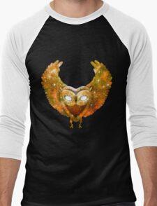 Cosmic Owl Men's Baseball ¾ T-Shirt